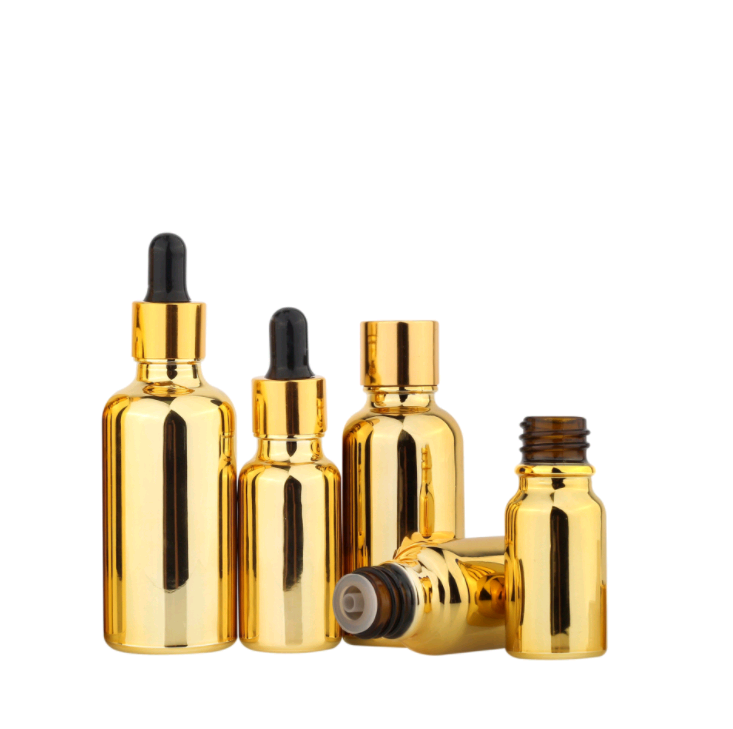 Electroplated-Gold-Essential-Oil-Bottle-20ml-30ml